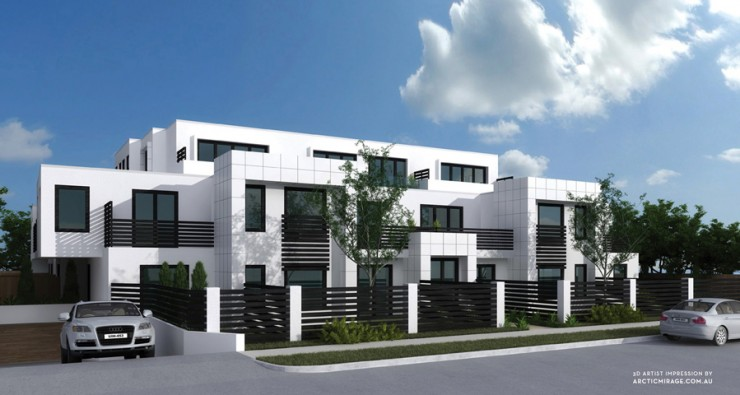 Apartment Building,<br>Murrumbeena