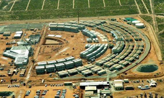 BHP Billiton Mining Camp,</br>Western Australia